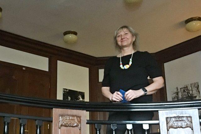 Profesorka Irena Korbelářová   foto: Kateřina Huberová,  Český rozhlas