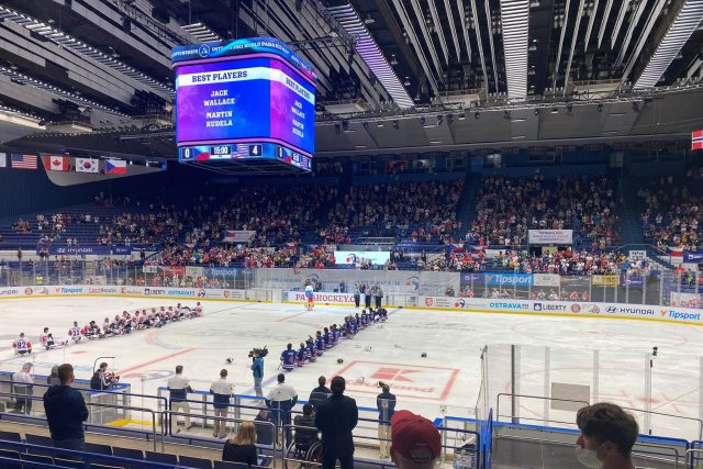 MS v para hokeji 2021, Česko - USA 0:4