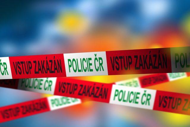 Policejní páska, Policie ČR (ilustrační foto)