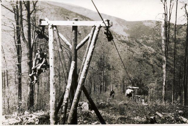 Traťová podpěra (1940)