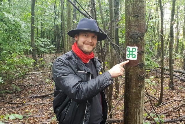 Jan Lenart ze spolku Pestré vrstvy u značky nové trasy