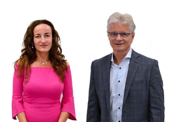 Senátní duel před 2. kolem volby: Simona Horáková a Herbert Pavera,  obvod 68 - Opava | foto: František Tichý