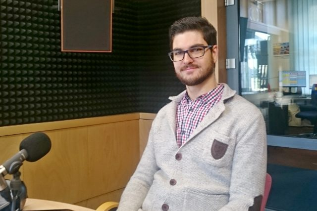 Expert na informační technologie Adam Koudela | foto: Ivana Šuláková,  Český rozhlas