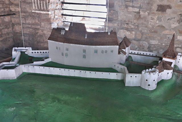 Model hukvaldského hradu | foto: Iva Havlíčková,  Český rozhlas