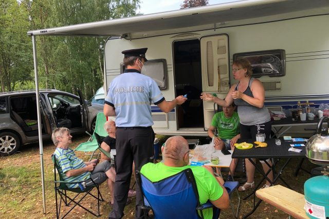 Trutnovská policie zvyšuje kontroly rekreačních areálů   foto: Kateřina Kohoutová,  Český rozhlas