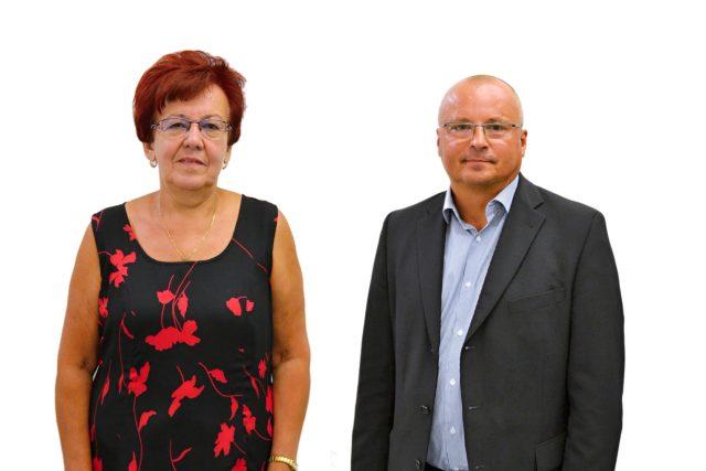 Senátní duel před 2. kolem volby: Milada Halíková a Petr Vícha,  obvod 74 - Karviná | foto: František Tichý