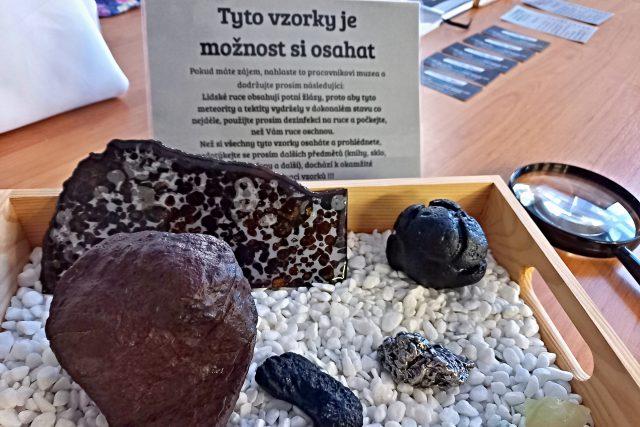 Tyto kameny si můžete i osahat | foto: Petra Štrymplová,  Český rozhlas
