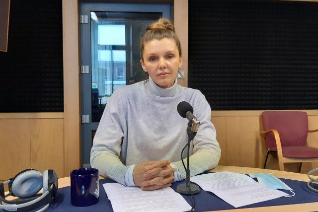 MUDr. Jana Štveráková,  primářka oddělení léčebné rehabilitace Nemocnice AGEL v Ostravě   foto: Ivana Šuláková,  Český rozhlas