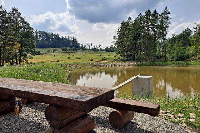 Obnovený rybník v Čakové na Bruntálsku | foto: Andrea Čánová,  Český rozhlas