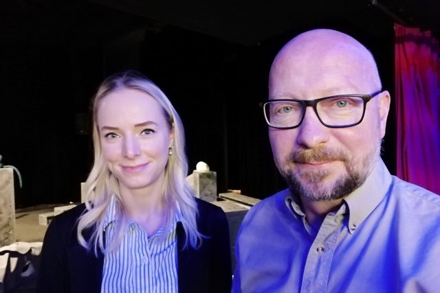 Lucie Mičková a Václav Klemens, Divadlo loutek ostrava