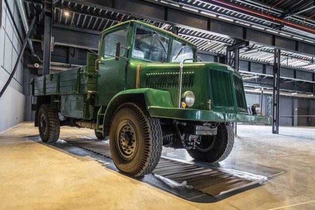 V novém muzeu nákladních automobilů Tatra už jsou první exponáty