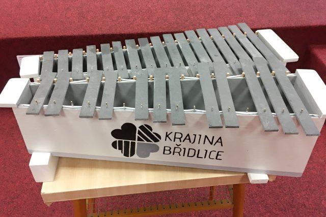 Břidlohra neboli xylofon z břidlice