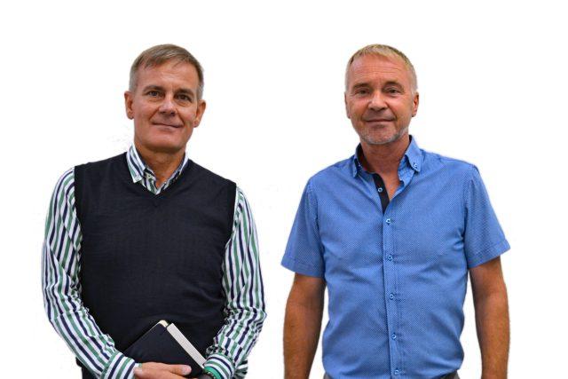 Senátní duel před 2. kolem volby: Ivo Gondek a Leopold Sulovský,  obvod 71 - Ostrava-město | foto: František Tichý