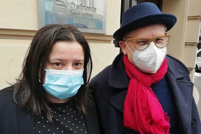 Monika Horsáková a Miroslav Zelinský, akademici Slezské univerzity v Opavě