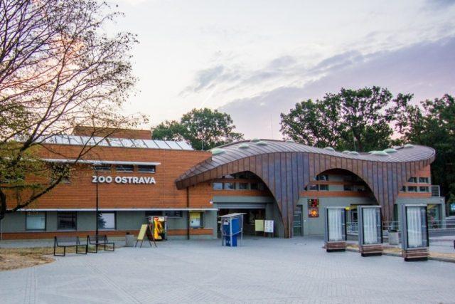 Vstupní objekt Zoo Ostrava