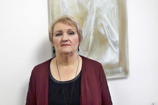 Ľubica Mezerová,  historička umění a památkářka   foto: Naďa Čvančarová,  Český rozhlas