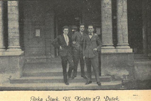 Jiří Štark,  Vladimír Kristin,  Josef Dušek   foto: Národní divadlo moravskoslezské