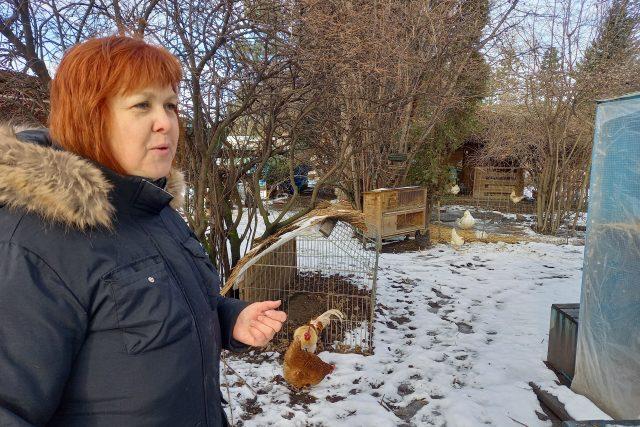 Jolana Pravdová na své farmě Duběnka