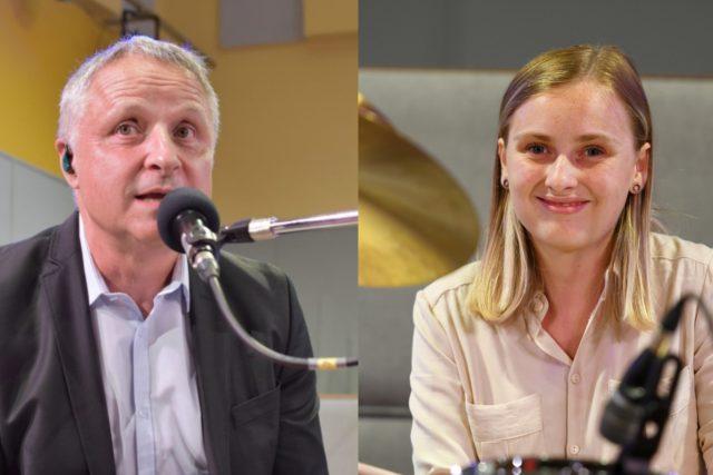 Buris Urbánek a Kristýna Sibinská | foto: František Tichý,  Martin Straka,  Český rozhlas