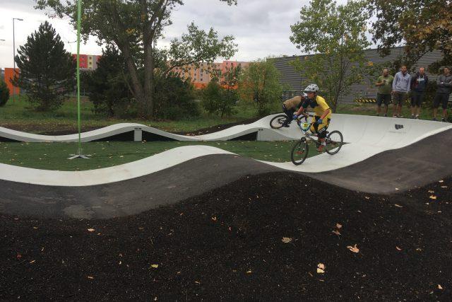 Nové pumptrackové hřiště v Teplicích