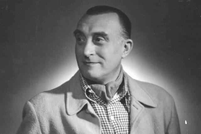 Oldřich Nový na civilním snímku ze 40. let | foto: Archivní a programové fondy Českého rozhlasu