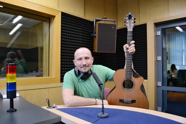 Ostravský muzikant a bavič Jiří Krhut