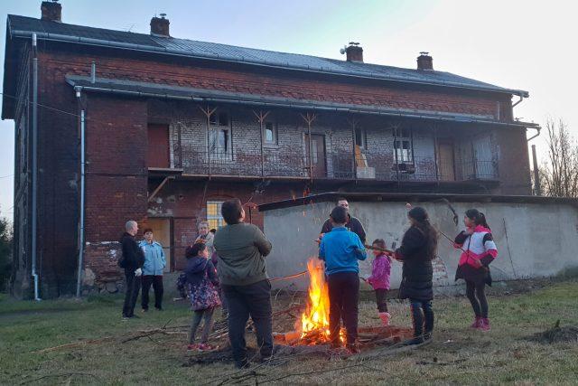 Komunitní centrum zprovoznili lidé v ostravském ghettu Bedřiška | foto: Petr Dušek,  Český rozhlas