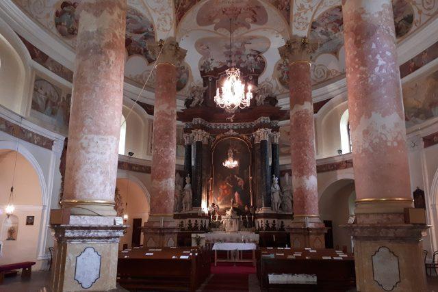 Interiér oválné Kaple V lipkách je skutečně ohromující   foto: Romana Kubicová,  Český rozhlas