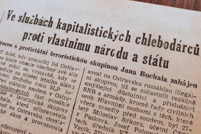 O zahájení procesu informoval dobový tisk