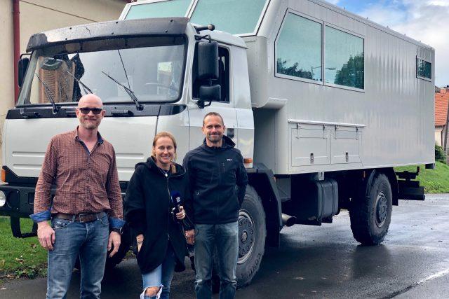 Iniciátory akce Tatra kolem světa 2 Marka Havlíčka a Petra Holečka pojí láska k cestování