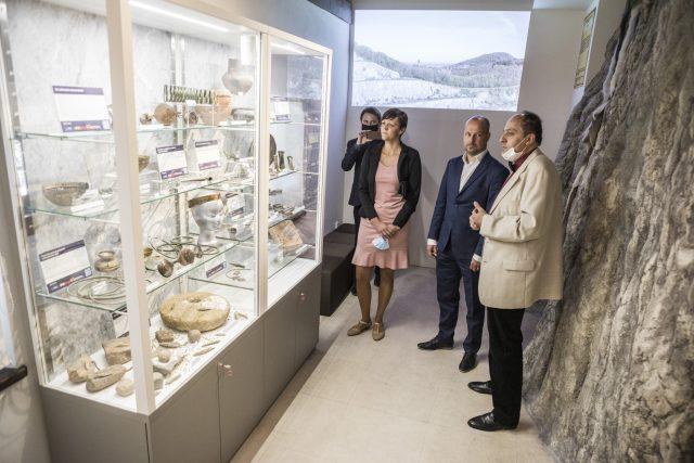 Jedna z expozic nového muzea