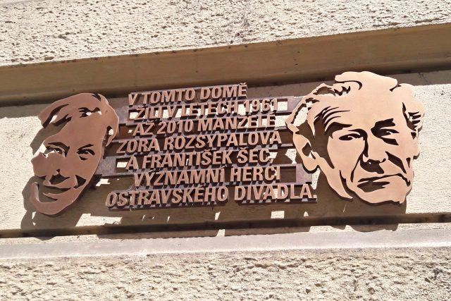 Pamětní deska v Poštovní ulici | foto: František Tichý,  Český rozhlas