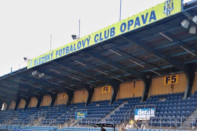 Tribuna stadionu SFC Opava