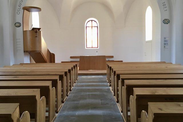 V evangelickém kostele v Hodslavicích | foto: Monika Pustovková