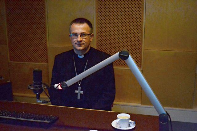 Pomocný biskup ostravsko-opavský a generální vikář Martin David