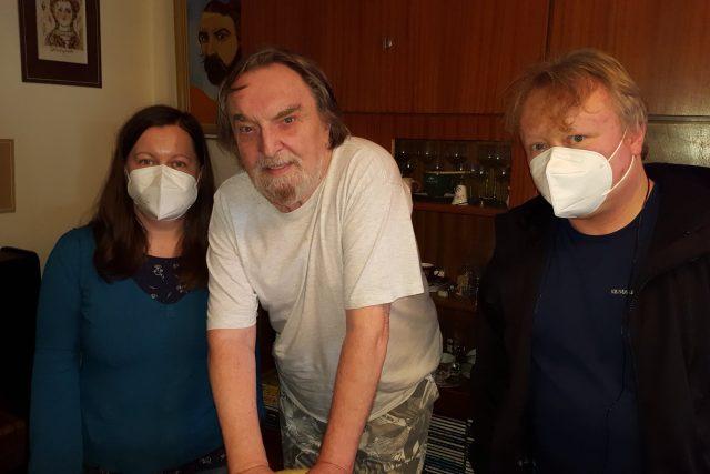 Petra Ševců,  Jaroslav Wykrent a Aleš Spurný | foto: Aleš Spurný,  Český rozhlas