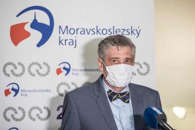 Moravskoslezský hejtman Ivo Vondrák (ANO)
