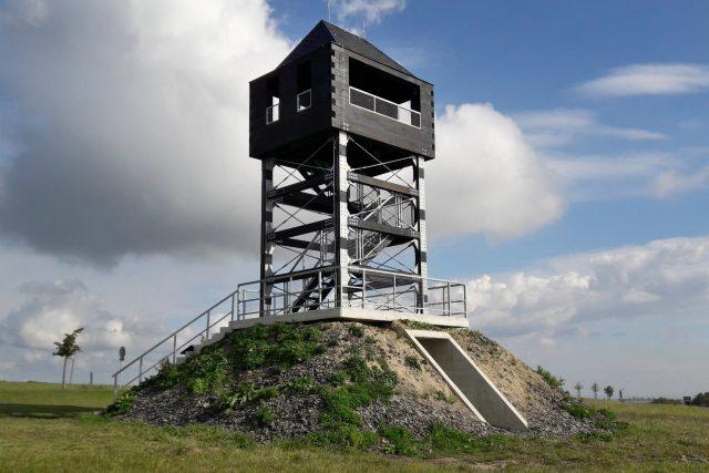 Nová rozhledna na Veselském kopci u Oder