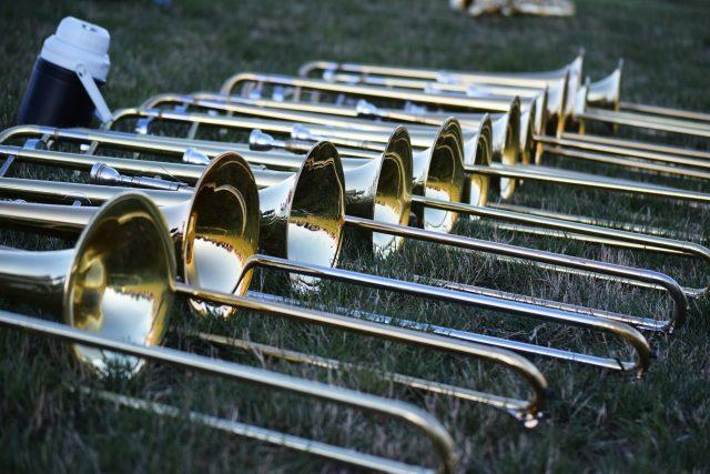 Hudba, nástroje, pozouny