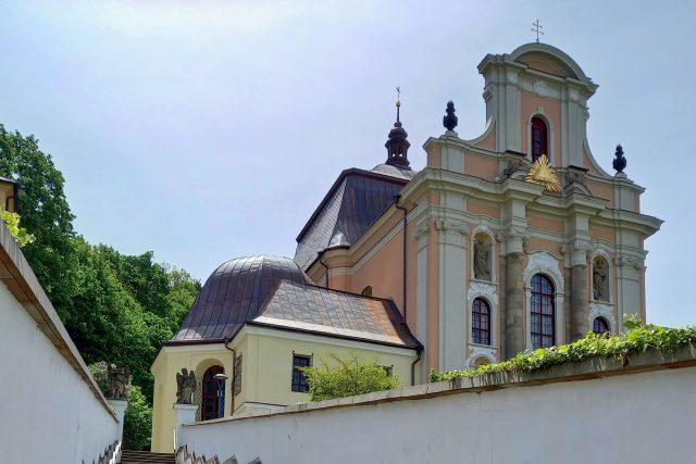 Chrám Nejsvětější Trojice ve Fulneku | foto: Petra Štrymplová,  Český rozhlas