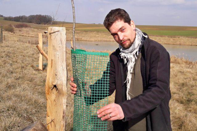 Petr Libosvár,  koordinátor projektů ČSOP Studénka | foto: Naďa Čvančarová,  Český rozhlas