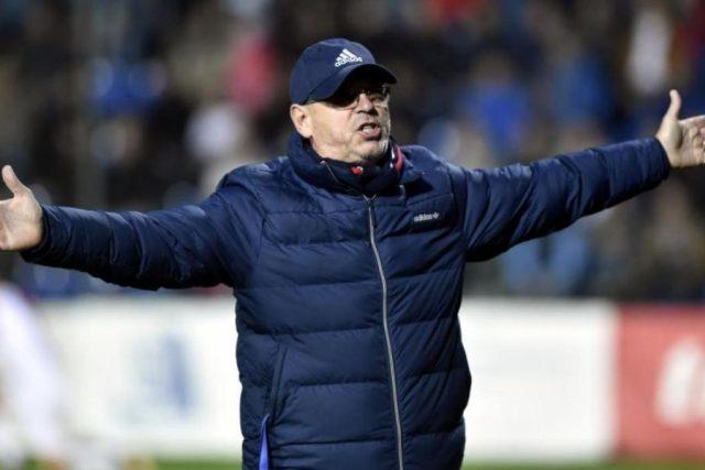 Trenér Baníku Ostrava Bohumil Páník
