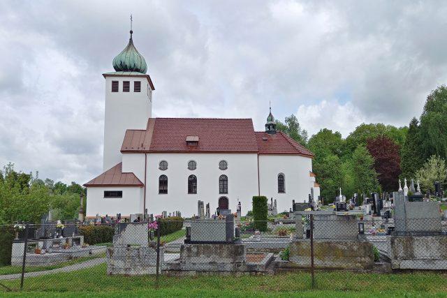 Kostel sv. Kateřiny v Kateřinicích | foto: Petra Štrymplová,  Český rozhlas