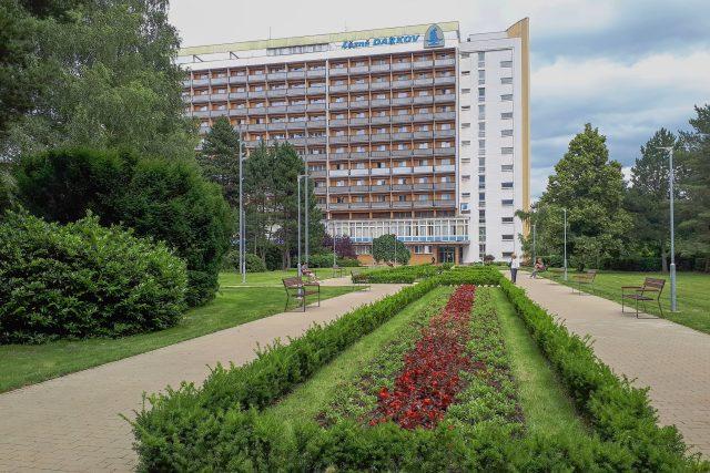 Moderní Rehabilitační sanatorium bylo vybudováno v 70. letech 20. století