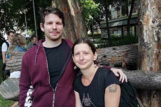 Petr Dorňák a Ilona Rozehnalová | foto: Dagmar Misařová,  Český rozhlas