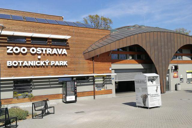 Vstupní objekt Zoo Ostrava a botanický park