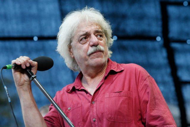 Robert Křesťan na hudebním festivalu