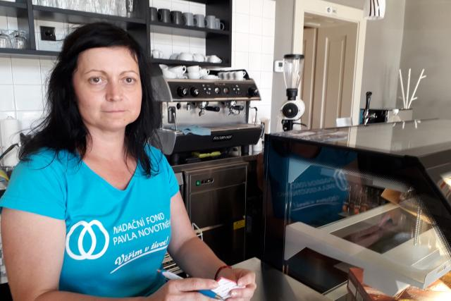 Pavla Uhrová, Kavárna života