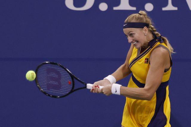 Česká tenistka Petra Kvitová   foto: Geoff Burke,  Reuters