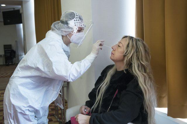 Antigenní testování | foto: Michaela Danelová,  iROZHLAS.cz